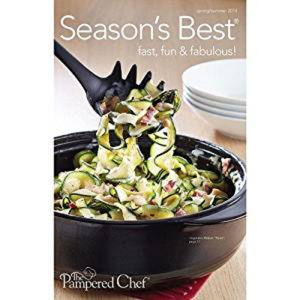 Pampered Chef Seasons Best Recipes - Spring/summer